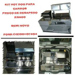 Kit hot dog para carros