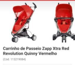 Carrinho de Bebê Quinny Vermelho