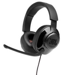 Headset Gamer JBL Quantum 300, Drivers 50mm, Preto