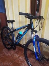 Bike GTA NX9 ARO 29 freios hidráulicos 27v Shimano Acera