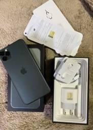 iPhone 11 Pro Max Cinza Anatel COMPLETO