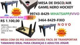 Air game # mesa de disco # aero hockey # novo