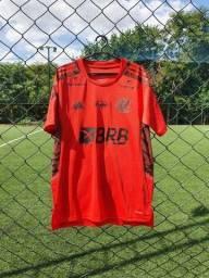 Camisa Flamengo Treino c/ Patrocínios 2021