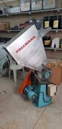 Moinho Pallmann - interna em inox, externa aço