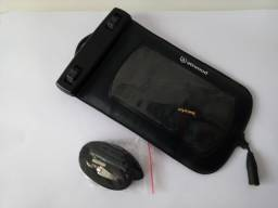 Bolsa Estojo Case Ipod Celular à prova D'Água