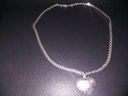 Lindo cordão de prata