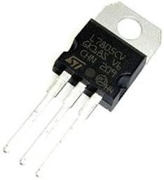 10 Peça Com Regulador De Tensão 7805 Lm7805 5v