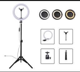 Ring aro de luz / led para tirar fotos e gravar vídeos