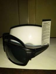 Óculos de Sol ProRider Preto Fosco UVA Gliramid Tam G