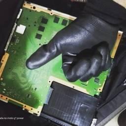 Limpeza e troca de pasta térmica PS4