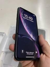 iPhone XR ,preto 128 gb