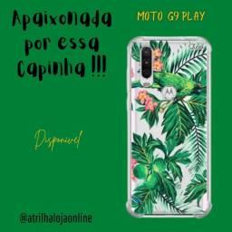 Moto G9 Play  - Capinha para Celular