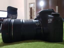 Canon 6D +Lentes