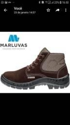 Bota  de couro  marluvas (39 ao 43)/#entrego