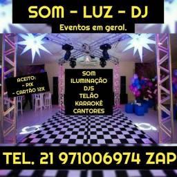 SOM LUZ DJ EVENTOS EM GERAL