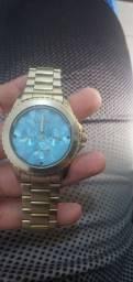 Relógio dourado marca:euro