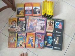 Coleção de fitas VHS pra colecionadores (Leia o anúncio)