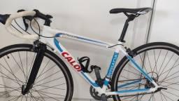 Bike speed Caloi Strada 2018 impecável! Tam 48
