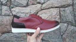 Sapato social grife em couro p/atacado R$34,00