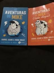 Livro as aventuras de mike .Os 2 por 20 reais