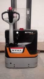 Empilhadeira patolada com carregador, marca Still EGV16