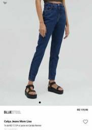 calça moom jeans