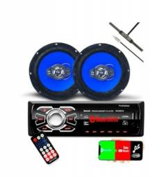 Radio Mp3 Bluetooth Fm para Automóvel- NOVO!