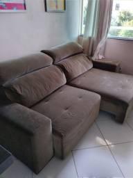 Sofa 4 lugares retrátil