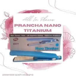 Prancha Nano titanium promoção dia das mães entregamos no mesmo dia