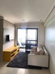 Título do anúncio: Aluguel / Vista mar / Apartamento mobiliado / 55m² / Edf. Portal da Praia / Boa viagem