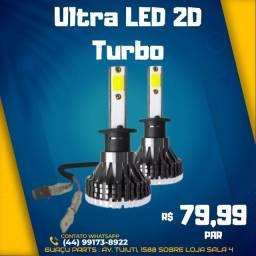 Super LED 2D 6000k 12/24v PAR Foco