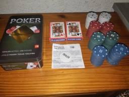 """Kit Fichas de Poker. """"Ler a Descrição""""."""