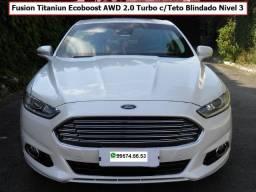 Fusion Titanium Ecoboost AWD c/teto blindado N3
