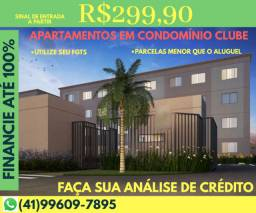 BBO - Apartamentos clube até 100% financiados