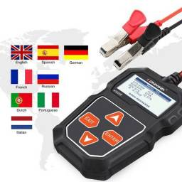 Testador de bateria digital analisador cca vida util
