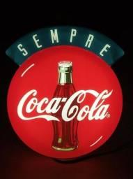 Luminoso Acrílico Coca Cola Antigo