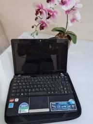 Netbook Asus 12 com defeito