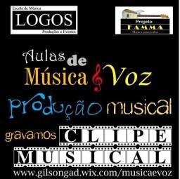 Aulas de Música e Gravações