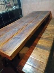Vendo mesa de madeira pinus