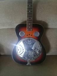 Vendo lindo violão importado regal dublo R D 40 bem cuidado sem avaria