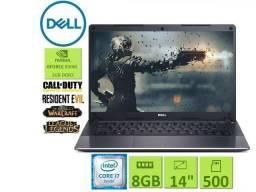 Ultrabook Gamer Dell| i7| 8 GB| Gforce| HD 500GB