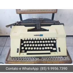 R$50 Apenas decorativa Máquina de datilografia antiga