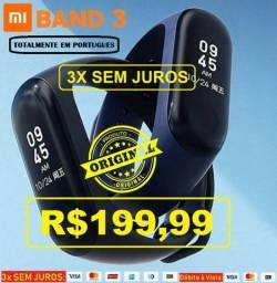 Xiaomi Mi Band 3 (Em Português) + Película - 3X Sem Juros