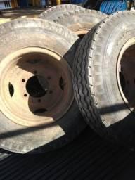 5 Roda 16 caminhão 3/4 camara e protetor