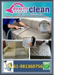 Lavagem de estofados em geral