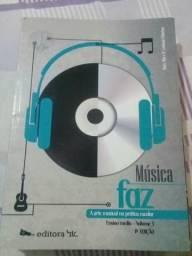 Livro Música faz pra ensino médio