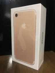 IPhone 7 Gold, Novo, 1 ano de garantia ::Acc Cartao