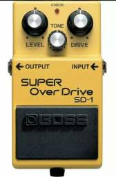 Pedal Overdrive Boss Sd1