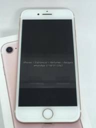IPhone 7 Rose 32GB ( Rosa 32 GB ) - Completo com nota fiscal. Estado de celular novo