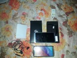 Vende-se ou troca LG g6 novo com todos os acessórios e nota